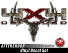 4x4 Camouflage Deer Skull Truck Decal Sticker Whitetail Archery Hunting for Ford