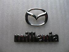 1998 MAZDA MILLENIA REAR TRUNK CHROME EMBLEM DECAL LOGO SET 98 99 00