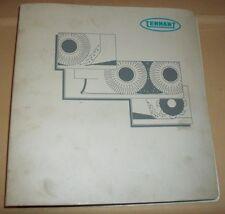 Tennant Floor Scrubber Parts Maintenance Service Manual- Models 1465, 1480, 1490