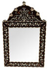 Handcrafted Moroccan Wood Mirror Frame/Wall Hanging Mirror/Wall Décor