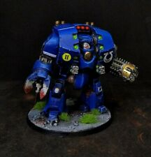 Ultramarines Leviathan Pattern Siege Dreadnought painted Warhammer 40k exclusive