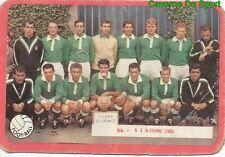 086 EQUIPE AS.SAINT-ETIENNE FOOTBALL CARD CARTE MIROIR SPRINT 1960's RARE