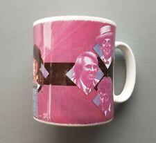Doctor Who 30th Anniversary Mug. Alister Pearson art. 7 Doctors. 1993. Rare.