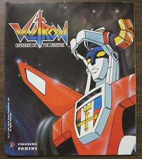Voltron- Defender of the Universe Panini Sticker Album 1980s Cartoon Collectible