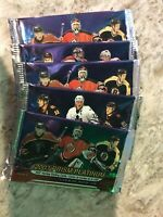 2003 Prism Platinum McDonald's Hockey Cards  5 Unopened Packs Pacific