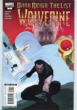 2009 WOLVERINE: DARK REIGN-THE LIST #1 ( ONE-SHOT ) MARVEL COMICS VF