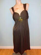 Hale Bob NWT $260 Gorgeous Silk Cocktail Dress with Jewelry Size M