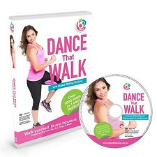 DANCE Steps One Easy Low Impact Walking Workout DVD Exercise Fitness Movies NEW