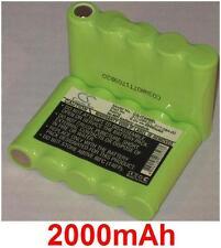 Batterie 2000mAh type 317-084-00 317-084-001 Pour Intermec Pen Key 5000