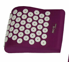 Pro11 wellbeing acupressure pillow. bed of nails pillow