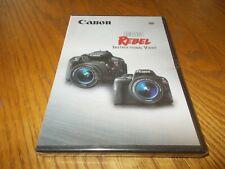 CANON EOS REBEL INSTRUCTIONAL VIDEO DVD