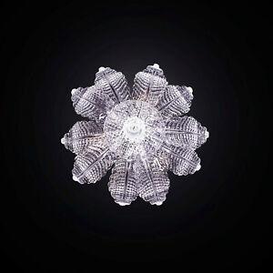 Ceiling Classic Glass Murano Clear 3 Lights Bga 2182-pl10f