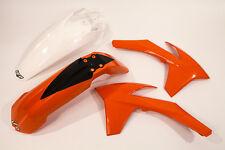 UFO Enduro Kit Plástico KTM EXC 125 250 300 2012 2013 OEM Color ktkit 513E-999