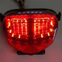 Brake Tail lights For GSXR 600 GSX-R600 750 1000 clear LED