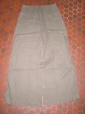 Pantalon ample en lin taupe femme SEPIA taille 38