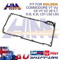 SUMP/OIL PAN GASKET for HOLDEN COMMODORE VT VU VX VY VZ V8 5.7 6.0L 6.2L LS1-LS3