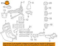 MERCEDES OEM 01-04 SLK230 Floor Console-Boot 1702670197