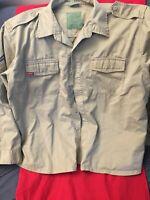 Rothco Ultra Force BDU Tan XL Extra Large Reg Jacket Shirt Long-Sleeved