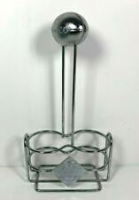Vintage Tabasco Pepper Sauce Holder Restaurant Caddy Style Football Mchenny Co