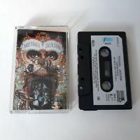 MICHAEL JACKSON DANGEROUS CASSETTE TAPE 1991 PAPER LABEL EPIC SONY UK
