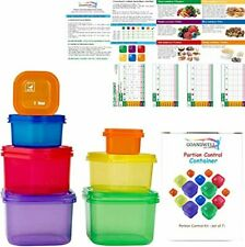 New listing 21 Day Fix Portion Control Containers Kit Meal Food Plan Weight Loss Diet Body
