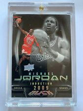Michael Jordan 09 Upper Deck UD Black HoF Induction