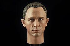 1/6 James Bond 007 Daniel Craig Head Sculpt Clothing P99 Sean Connery Hot Toys