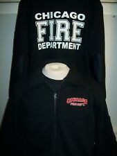 Chicago Fire Department Game Firefighter Full Zip Job Shirt