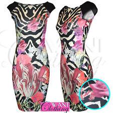 Plus Size Striped Sleeveless Short/Mini Dresses for Women