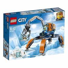 LEGO 60192 City Arctic Ice Crawler Snow Crane Opening Claw Gripper Building Toy