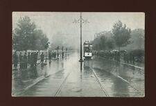 London EALING COMMON Floods Tram Used 1904 PPC