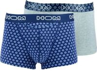 HOM underwear HO1 Flower Power 2-Pack Boxer Briefs Cotton Men Trunk boxer shorts