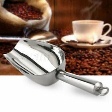 Durable Stainless Steel Ice Shovel Grains Sweets Candies Rice Flour Food Scoop