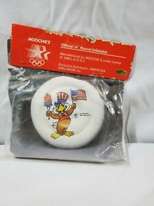 OFFICIAL 1984 LOS ANGELES OLYMPIC SEAT CUSHION COLLECTIBLE INFLATABLE EAGLE RING