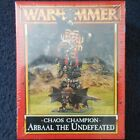 1995 Chaos Arbaal the Undefeated Games Workshop Warhammer Champion of Khorne MIB
