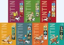 21 Classic Graphic Novels of TINTIN in 7 HARDCOVER Collector's Editions