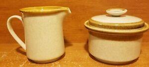 Mikasa STONE MANOR Creamer & Sugar bowl set, F5800, Excellent