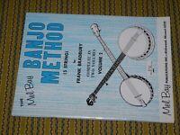 Mel Bay Banjo Method Book 5 String Volume 2 1967
