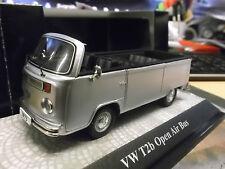 VW Volkswagen Bus T2 b T2b Open Air Cabro offen silver slber PremiumClassix 1:43
