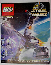 LEGO Star Wars > Set 7180 B-Wing at Rebel Control Center COMPLETO + Recipe