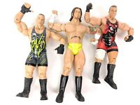 Set of 3 Jakks Pacific Series Action Figure RVD Rob Superstar WWE ECW AEW 2003-5