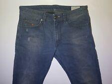 Mens Diesel Thavar W30 L32 Skinny Slim Fit Stretch Denim Jeans DIS22