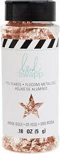 Heidi Swapp Foil Flakes .18oz-Rose Gold - 3 Pack