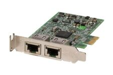 New Dell Broadcom 5720 Dual Port 1GbE PCIe Network Adapter Card 557M9