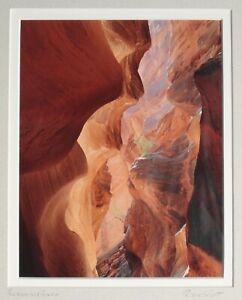 Peter B. Scott  Color Photograph, Buckskin Gultch Rock Formation