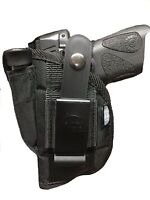 Nylon Gun Holster fits Smith & Wesson M&P Shield 40 & (9mm) With Laser