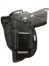 OWB Gun Holster For Smith & Wesson M&P Shield 40 & (9mm) With Laser