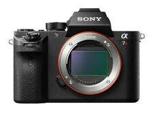 Sony Alpha A7R MarkII ILCE Mirrorless Digital Camera Body Only - Black PRE OWNED