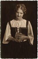 Seelchen beim Kirchgang, Orig.-Photo von 1926