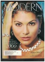 Modern Jeweler Magazine January 2000 Joyce Giraut Lucida Diamond Milk Punch